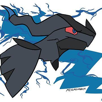 Zekrom - Legendary Pokemon by maplehouse