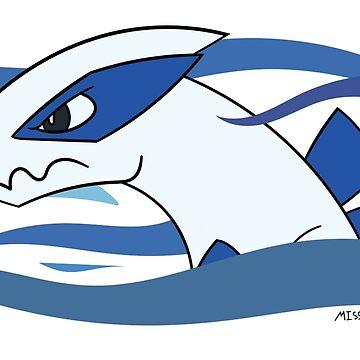 Lugia - Legendary Pokemon by maplehouse