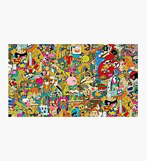 Collection of cartoons  Photographic Print