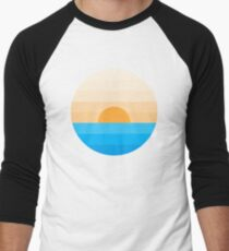 Sun goes down Men's Baseball ¾ T-Shirt