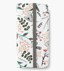 Folk Botanical iPhone Wallet/Case/Skin
