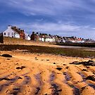 Tide out in Anstruther  by Kasia-D