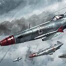 fighters over kubinka by FRUIZ101