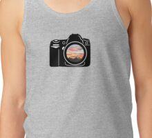 Sunset Camera Tank Top