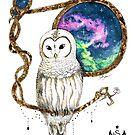 «The Mystic Owl - Sarârticum» de Sararticum