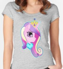 Princess Cadance Version 2 Women's Fitted Scoop T-Shirt