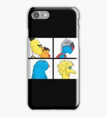 sesame street warrior iPhone Case/Skin