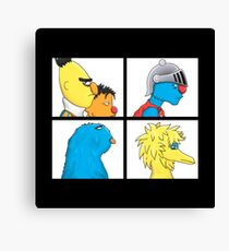 sesame street warrior Canvas Print