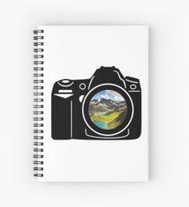 Mountain Camera Spiral Notebook