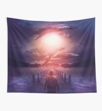 The Space Between Dreams and Reality Wall Tapestry