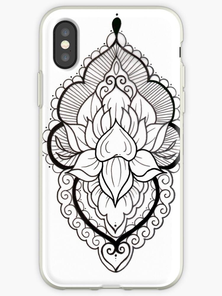 coque iphone xr tattoo
