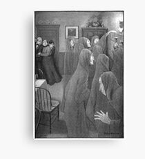 Long Arm Ghost – The Wind in the Rose-Bush (Freeman, Mary Eleanor Wilkins) Canvas Print