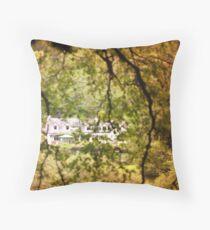Ireland, little house Throw Pillow