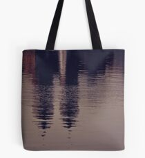 New York reflected Tote Bag