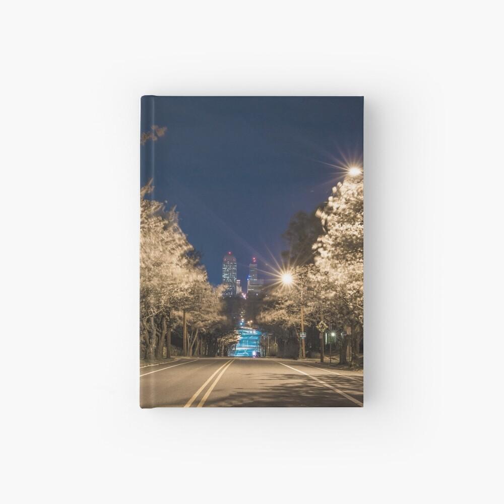 Silent Main Street Winston Salem  Hardcover Journal