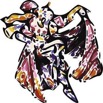 Final Fantasy 6: Kefka (Vectorized) by muramas