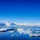 Ice lagoon 4 Iceland by Chris Thaxter