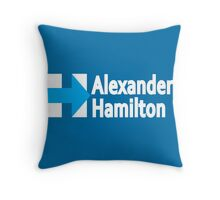 In the West Indies, Born and Raised Throw Pillow