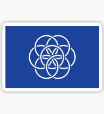 Earth Flag - Sticker Sticker
