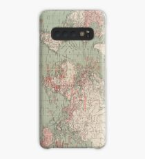 Vintage Map of The World (1918)  Case/Skin for Samsung Galaxy
