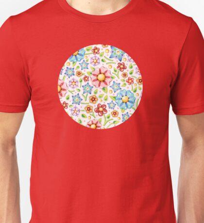 Ditsy Millefiori Pattern T-Shirt