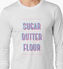 Zucker Buttermehl | Kellnerin Langarmshirt