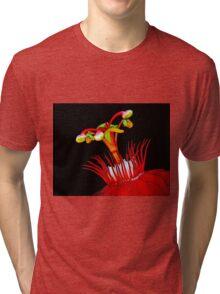 Flower Close-Up Tri-blend T-Shirt