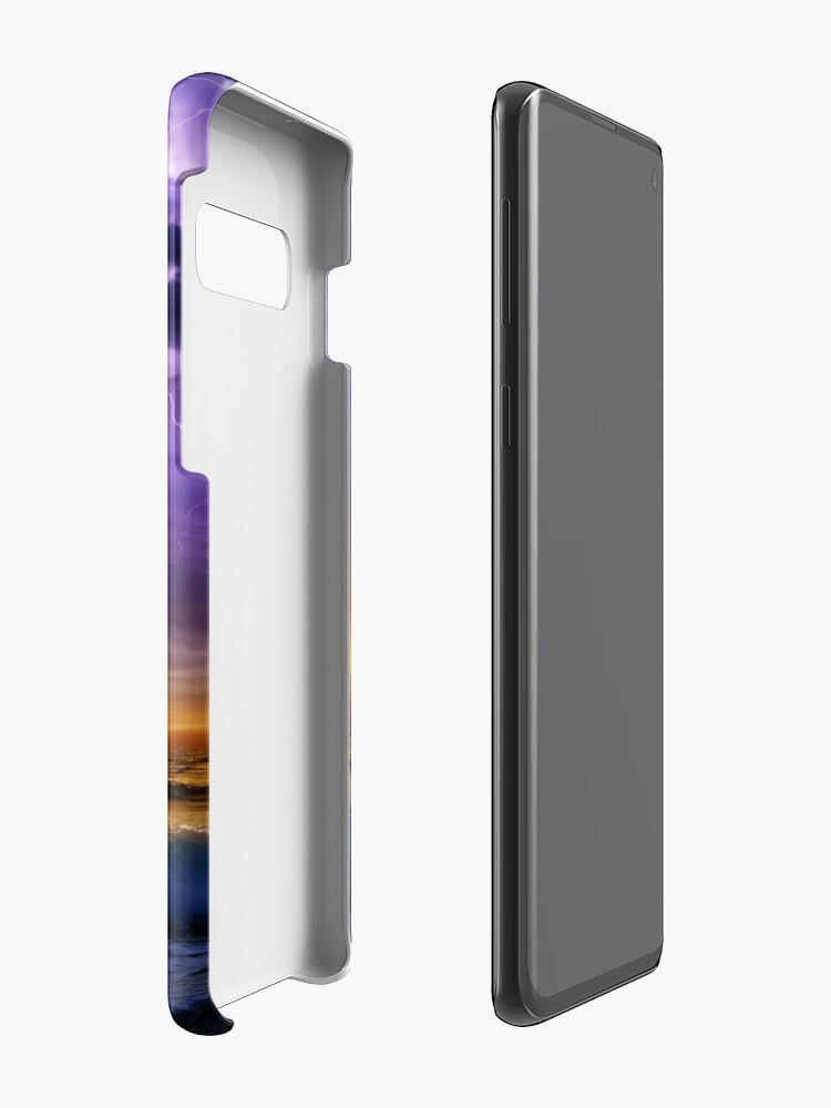 Alternative Ansicht von Illusionäre Beleuchtung Hüllen & Klebefolien für Samsung Galaxy