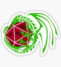 Dungeons and Dragons - Custom Colors Available! Sticker