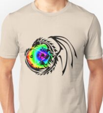 Dungeons and Dragons - Black and Rainbow (Prismatic)! T-Shirt