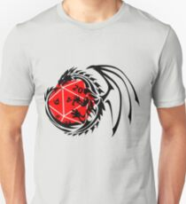 Dungeons and Dragons - Black and Red! Unisex T-Shirt