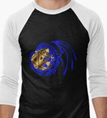 Dungeons and Dragons - Blue and Gold! Men's Baseball ¾ T-Shirt
