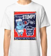 """STUMPY PETE"" House of Ham Werbedruck Classic T-Shirt"