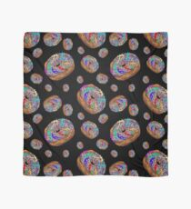 Kamasutra Space Donuts with Human Colorful Rainbow Confetti Sprinkles Scarf