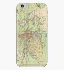 Vintage Map of The World (1778) iPhone Case