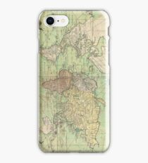 Vintage Map of The World (1778) iPhone Case/Skin