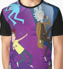 Rick and Morty - Doctor Who Mash Up!  Graphic T-Shirt