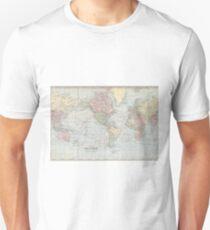 Vintage World Map (1901) Unisex T-Shirt