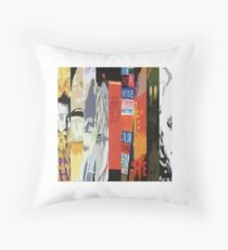 Radiohead All Album Covers Throw Pillow