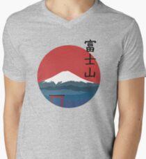 Fujiyama Men's V-Neck T-Shirt
