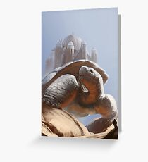 Turtle Temple Greeting Card