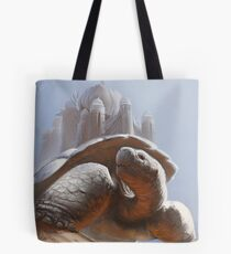 Turtle Temple Tote Bag