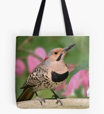 Male Northern Flicker Tote Bag