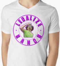 Legalize Ranch Version 2 T-Shirt mit V-Ausschnitt
