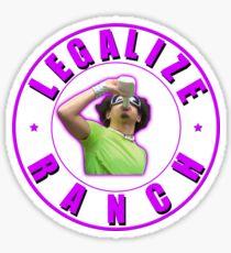 Legalize Ranch Version 2 Sticker