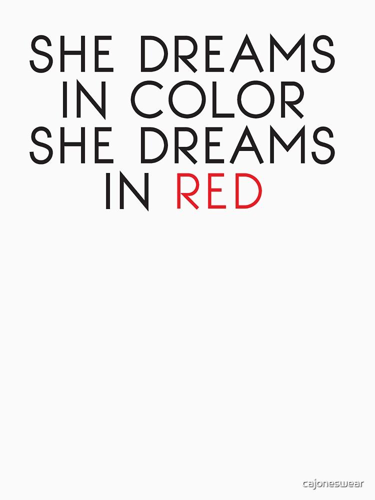 She Dreams In Color by cajoneswear