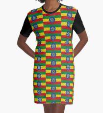 ETHIOPIA Graphic T-Shirt Dress