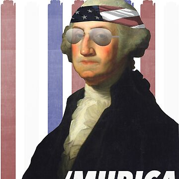 George Washington President of Murica by radthreads