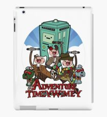 Doctor Who Adventure Time iPad Case/Skin