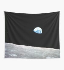 Earthrise Beautiful Astronomy Image Wall Tapestry